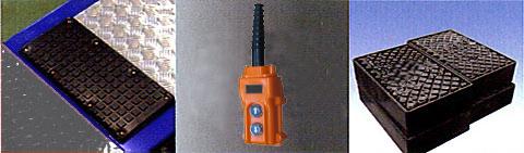 HBB 超低床シザーズリフトC 付属品