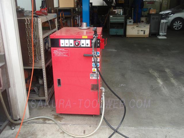 オカツネ温水高圧洗浄機