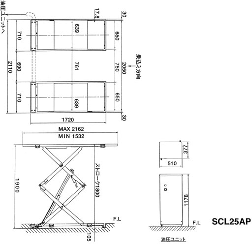 SCL25AP 寸法図